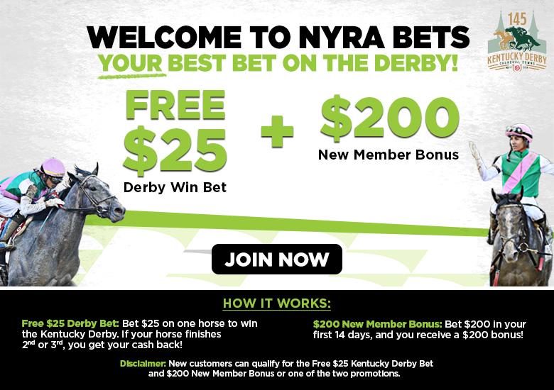 7927eebcf90 Free  25 Derby Bet and  200 New Member Bonus Promo Code  DERBY25