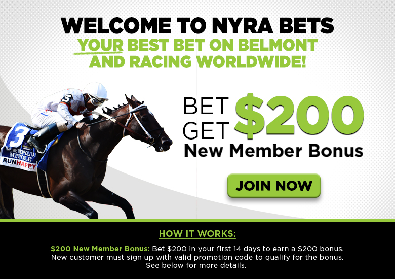 Signup Landing Content | NYRA Bets | NYRA Bets