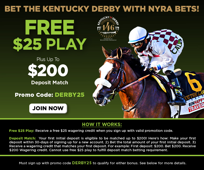Bet kentucky derby on nyra bet binary options trading demo